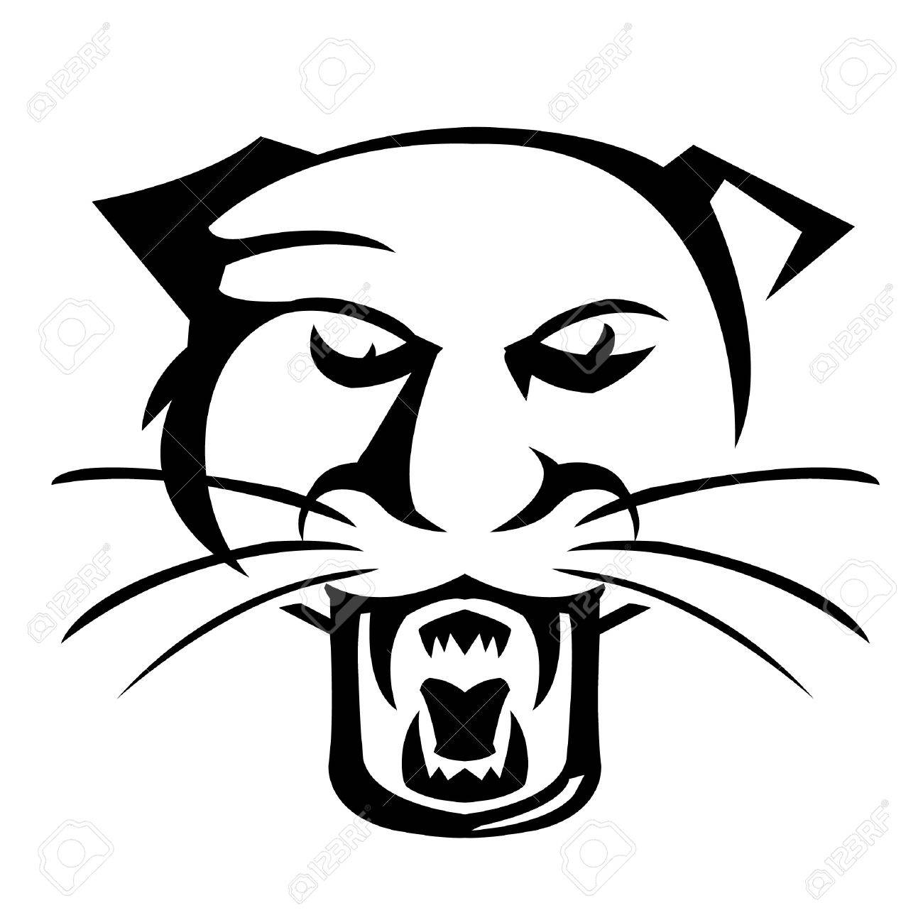 1300x1296 Panther Illustrator Royalty Free Cliparts, Vectors, And Stock