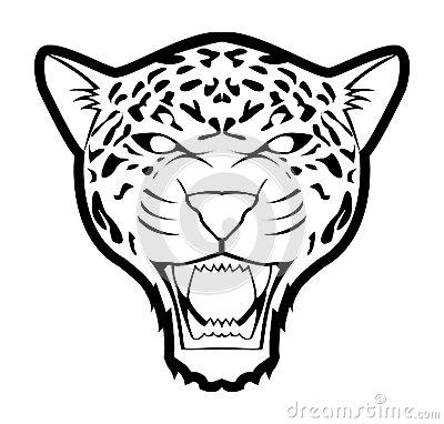 400x382 Drawn Jaguar Jaguar Head