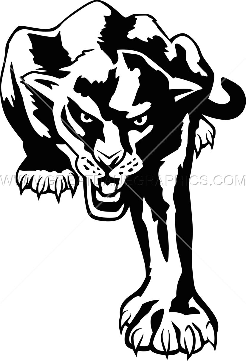 825x1210 Full Panther Production Ready Artwork For T Shirt Printing