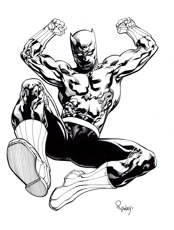 1000x1324 Tom Raney Black Panther!!