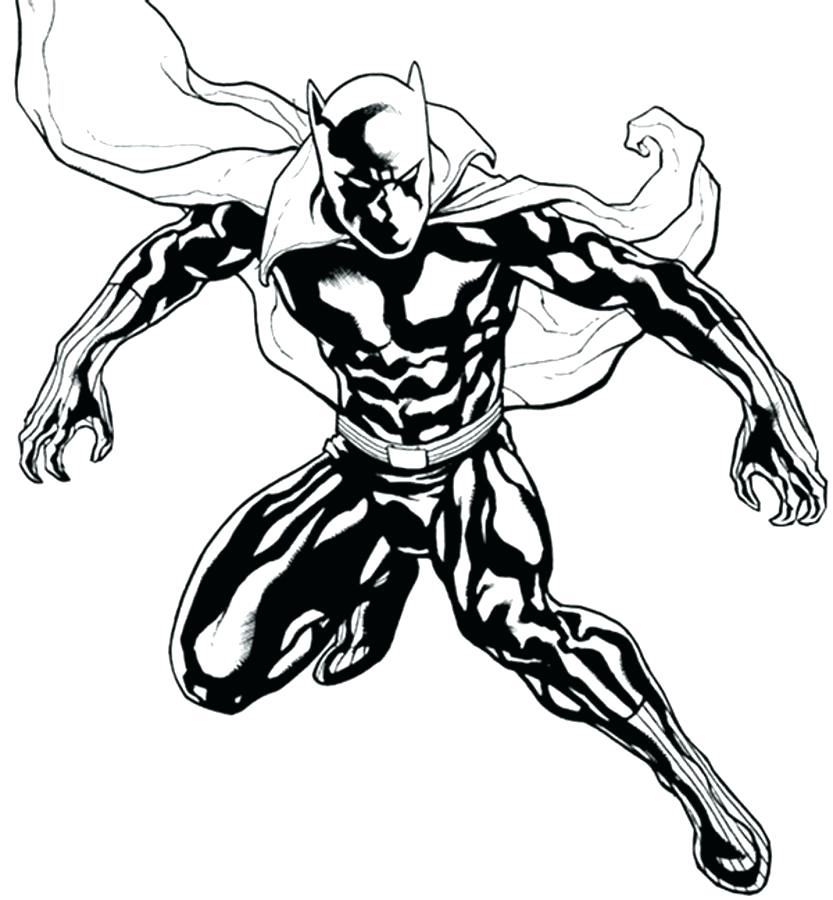 833x900 Black Panther Coloring Lesson Coloring Pages For Kids Coloring