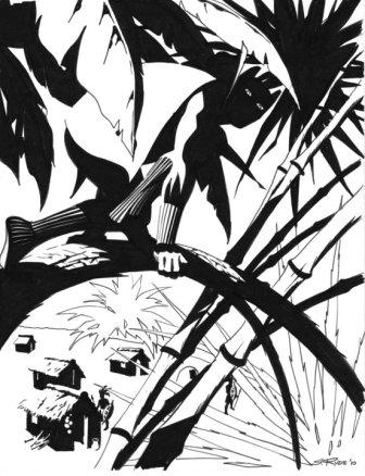 336x438 Comic Art Friday Black (Panther) Friday Swanshadow Thinks Out Loud