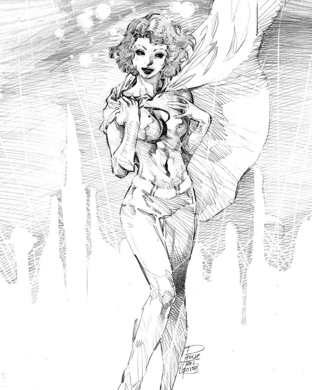 1080x1349 Phantom Girl By Phillip Tan