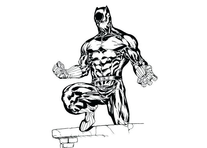 700x500 Black Panther Coloring Book Genesisar.co