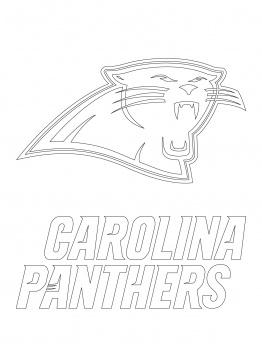 262x350 Carolina Panthers Coloring Sheets Coloring Page