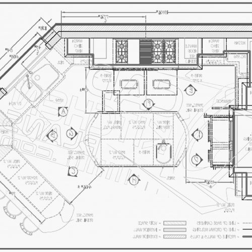 500x500 Kitchen Floor Plans With Island And Walk In Pantry Fresh Open