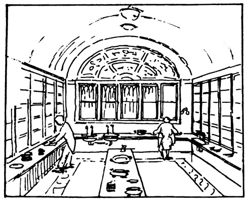 490x401 Victorian Butler's Pantry