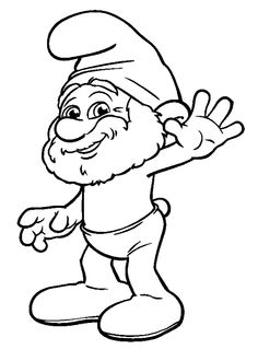 236x319 Clumsy Smurf Coloring Pages Coloring Pages Craft