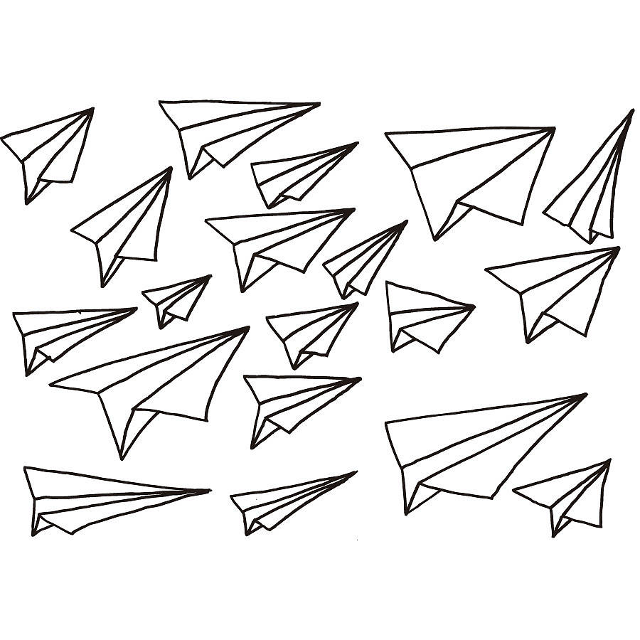 900x900 Paper Plane Drawing Tumblr Paper Plane Drawing Paper Rubber
