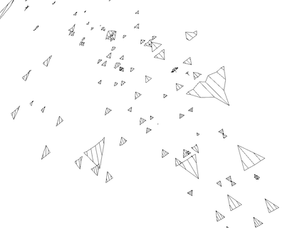 Paper airplanes drawing at getdrawings free for personal use 400x320 sms to paper airplanes malvernweather Images