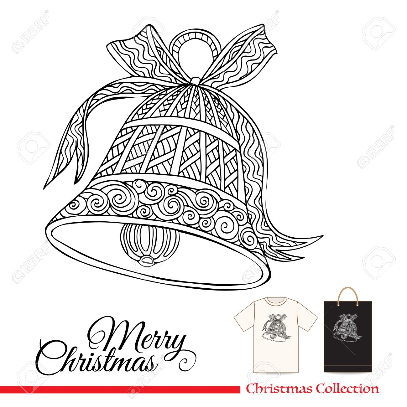 1299x1300 T Shirt Design Or Plastic Or Paper Bag Design With Christmas