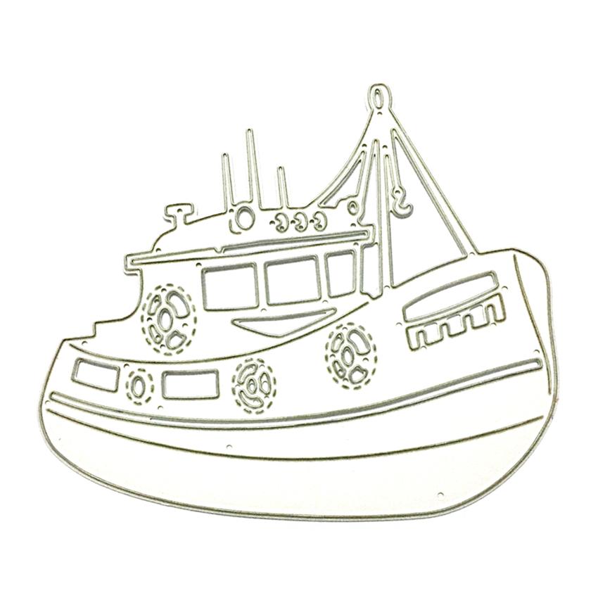 850x850 Sailing Boat Ship Metal Cutting Dies Diy Scrapbook Cutting Dies