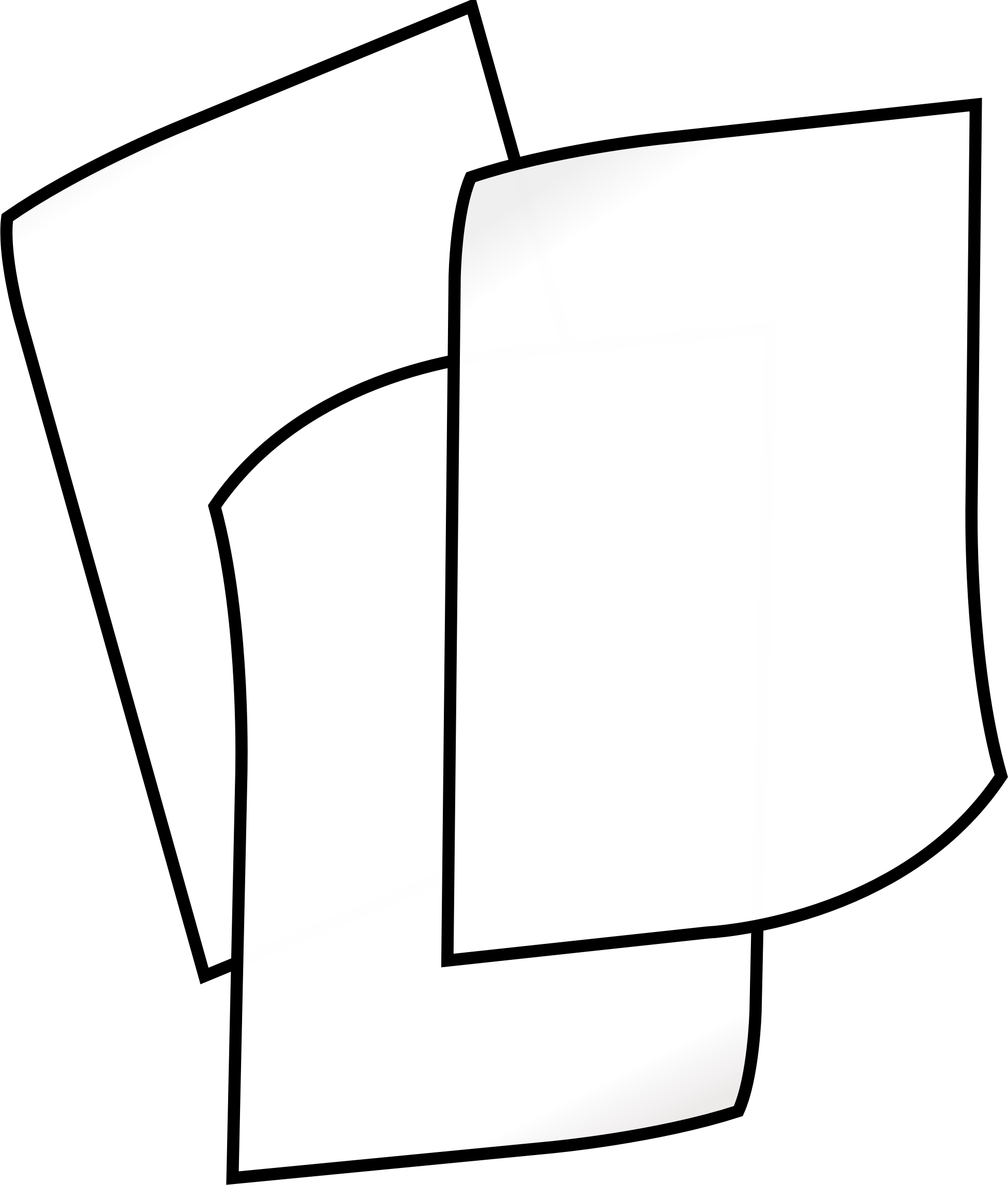 1953x2295 Stack Of White Paper Icons Png