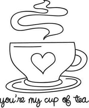 299x363 81 Best Teacup Coloring Pages Images On Coloring Books
