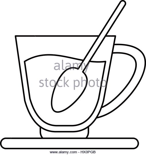 509x540 Coffee Cup Line Drawing Vector Stock Photos Amp Coffee Cup Line
