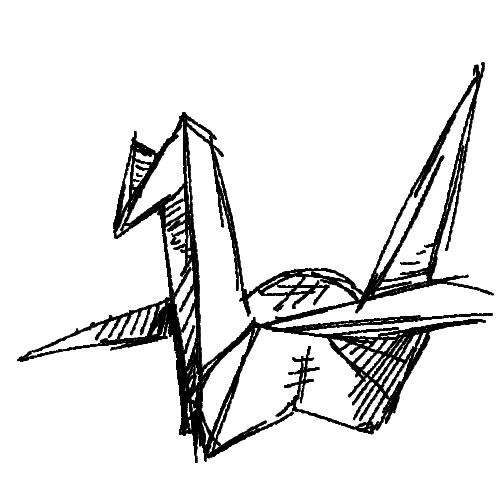 500x500 Burn The Internet It's A Paper Crane