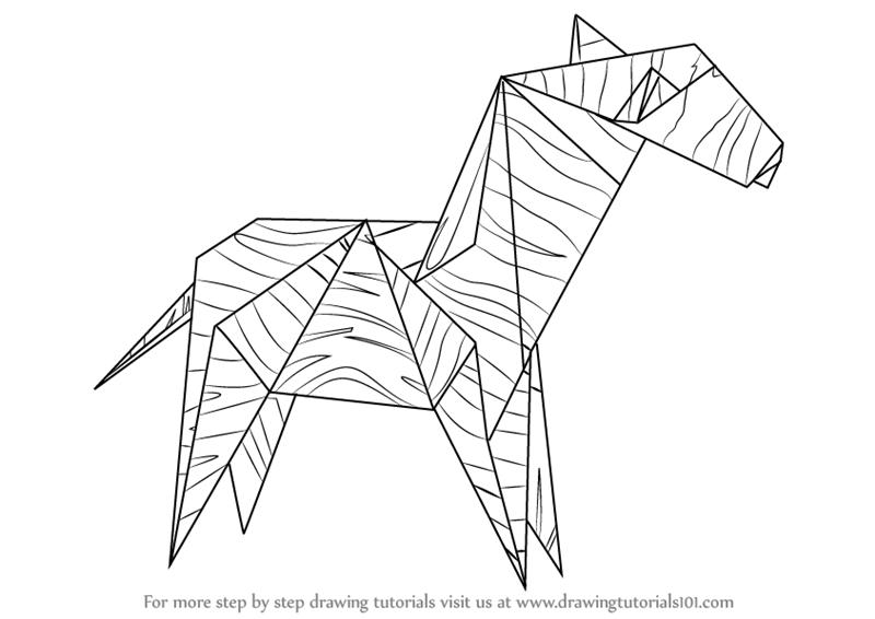 800x566 Origami Drawing Origami Crane Drawing Ideas