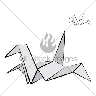 325x325 Crane Illustration Gl Stock Images