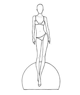 271x320 8 Best Printables Images On Body Template, Paper Doll