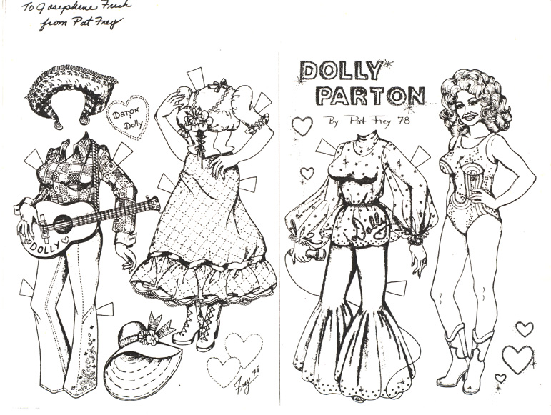 771x581 Dolly Parton Paper Doll Marges8's Blog