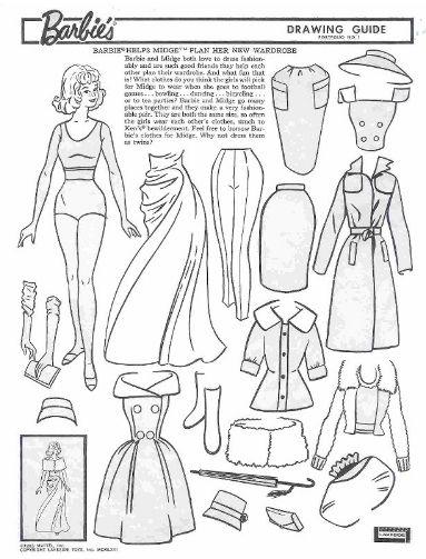 383x503 Drawn Barbie Gown