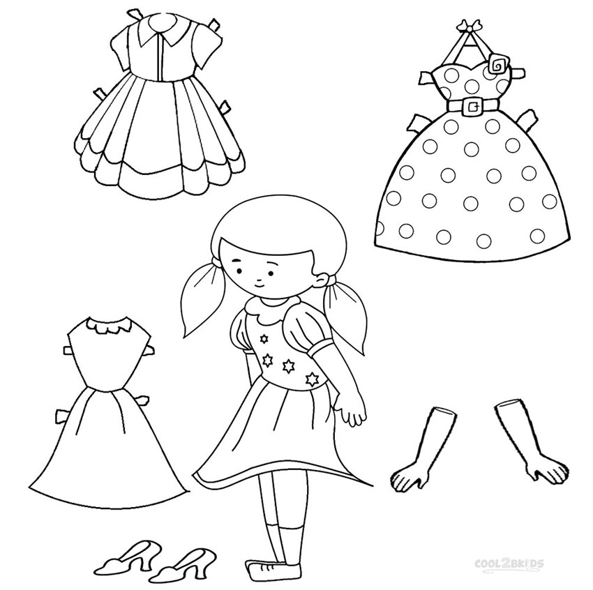 Paper Doll Drawing at GetDrawings.com | Free for personal use Paper ...