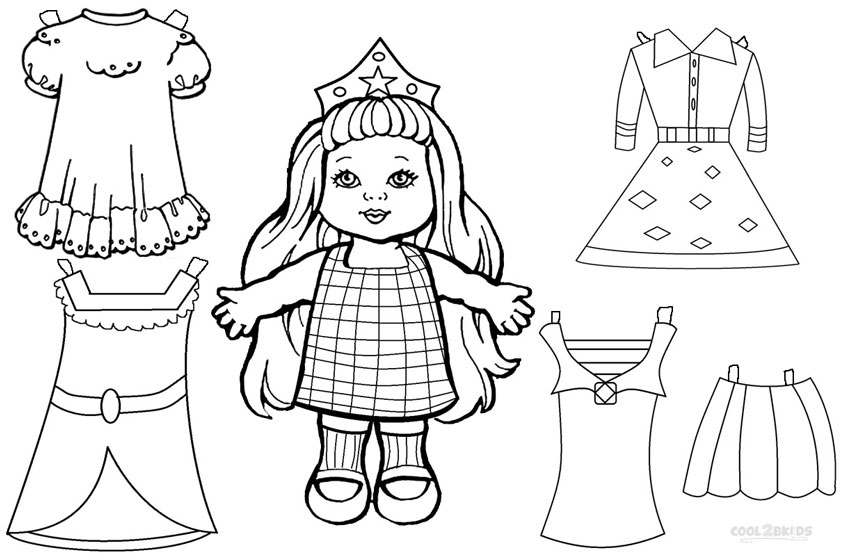 850x556 Best Paper Doll Coloring Pages 27 For Ree Coloring Pages