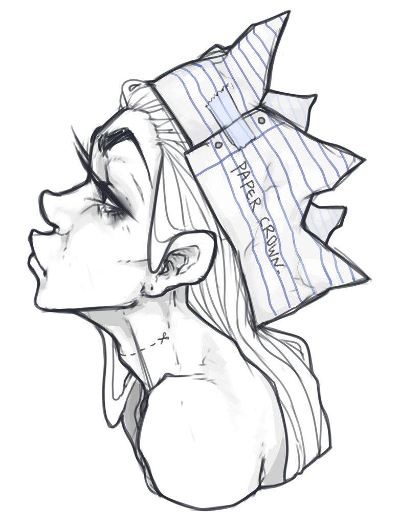 780x1025 Paper Crown By Socolateh