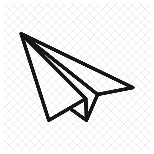 512x512 Paper, Plane, Tool, Interface Icon