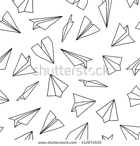 450x470 Planes Coloring Book As Well As Airplane Outline Search A Coloring