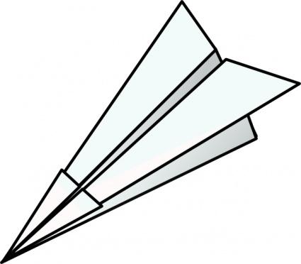 425x372 Toy Paper Plane Clip Art Vector, Free Vector Graphics