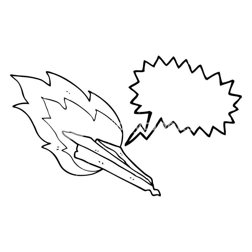 1000x1000 Freehand Drawn Speech Bubble Cartoon Paper Plane Crashing Royalty