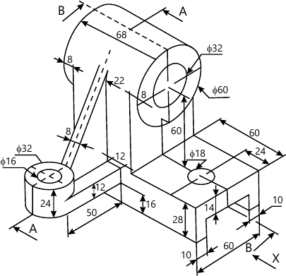 405x391 Engineering Drawing Question Paper May 2015