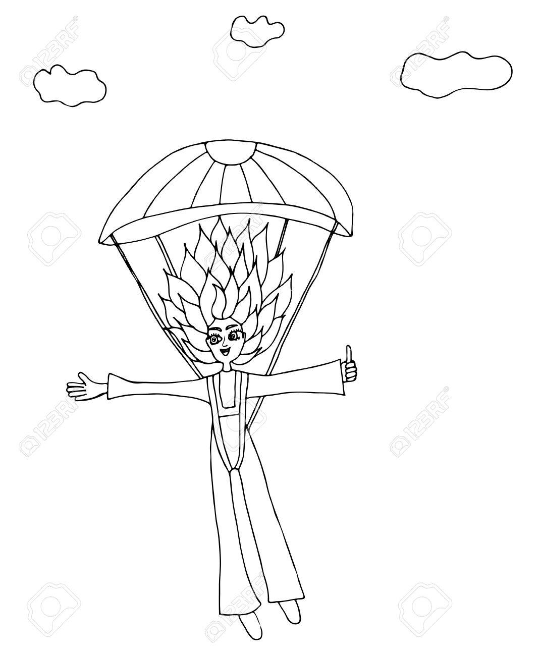Parachute Drawing