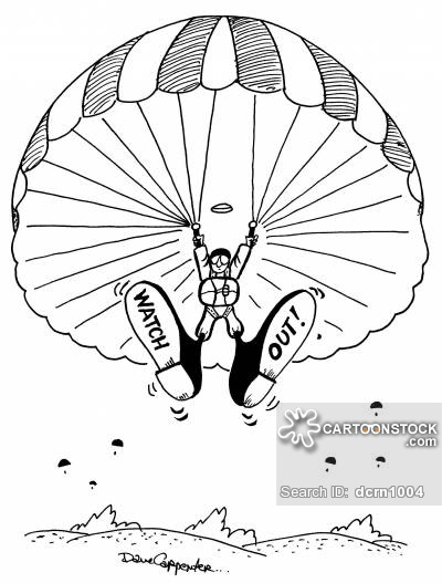 400x527 Parachuters Cartoons And Comics