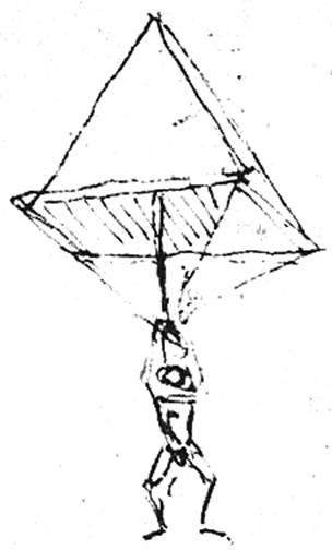 304x504 The Da Vinci Parachute