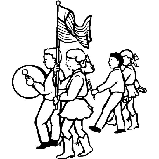 544x544 Parade Float Coloring Pages