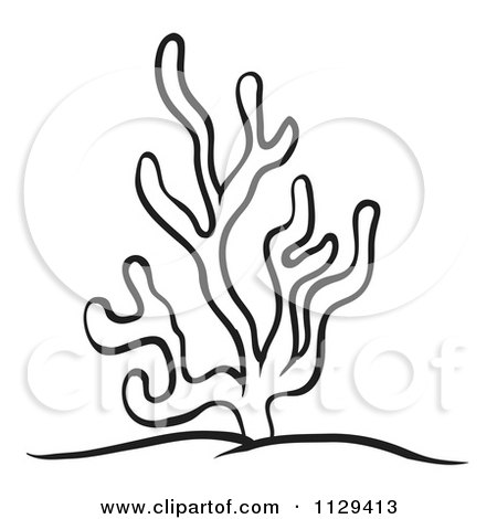 450x470 Royalty Free (Rf) Clipart Of Ocean Corals, Illustrations, Vector