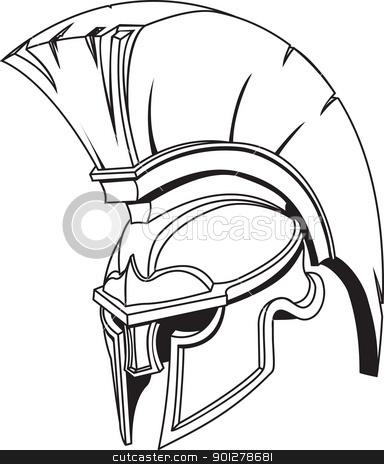 384x464 901278681 Illustration Of Spartan Roman Greek Trojan Or Gladiator