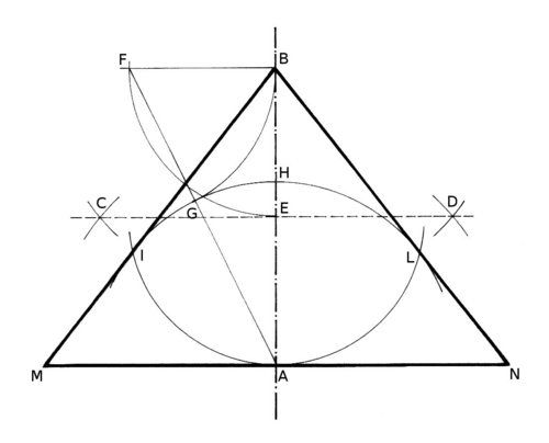 500x404 Geometry Problem 1267 Triangle, Incircle, Excircle, Circle