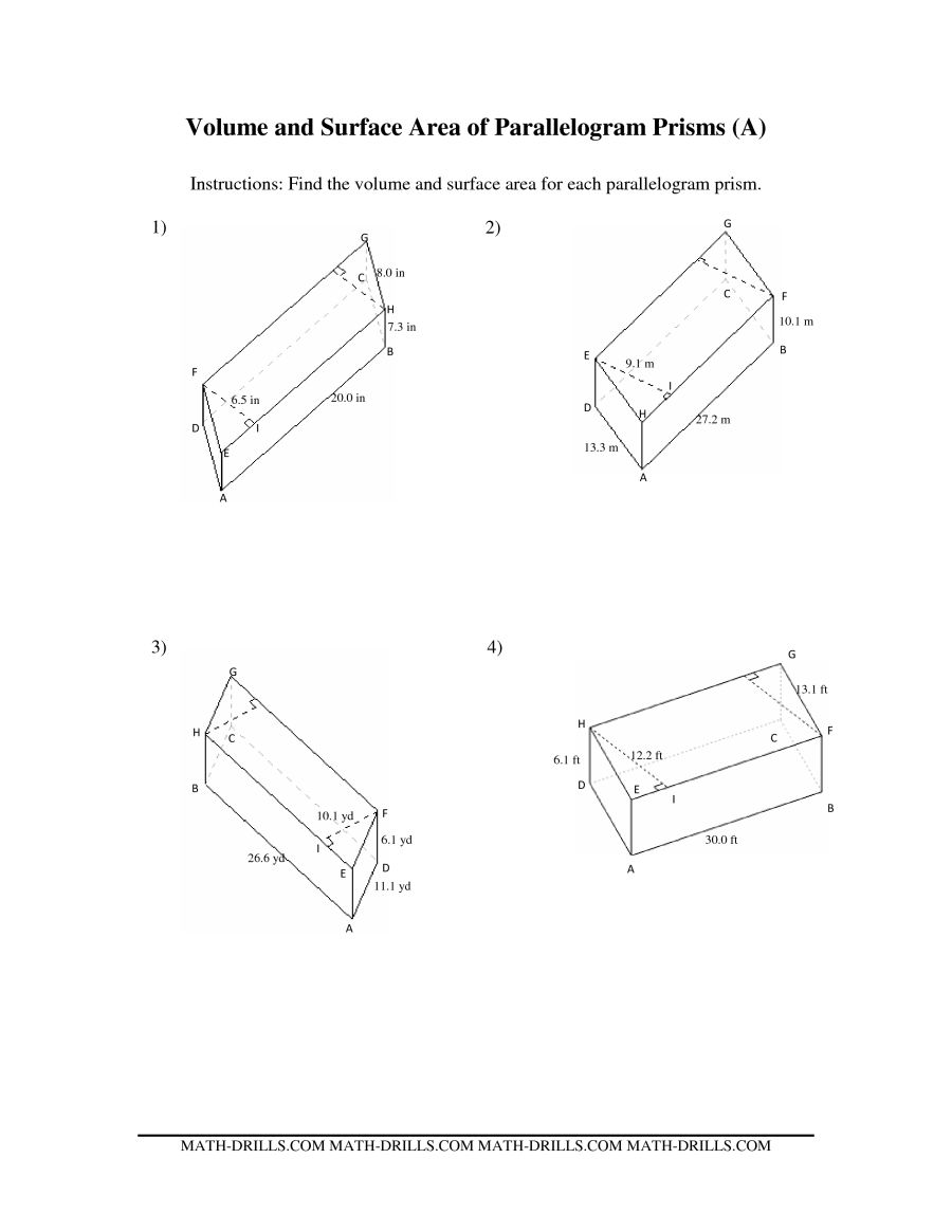 900x1165 Volume And Surface Area Of Parallelogram Prisms