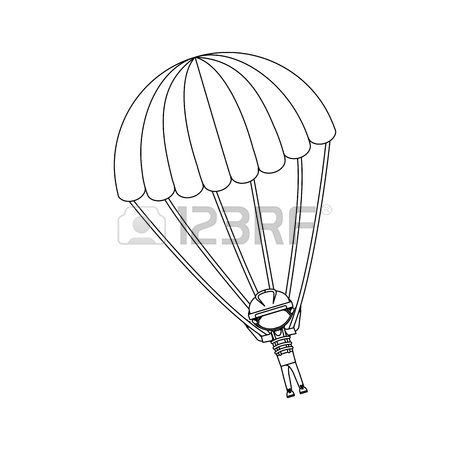 450x450 859 Jumper Parachute Stock Vector Illustration And Royalty Free