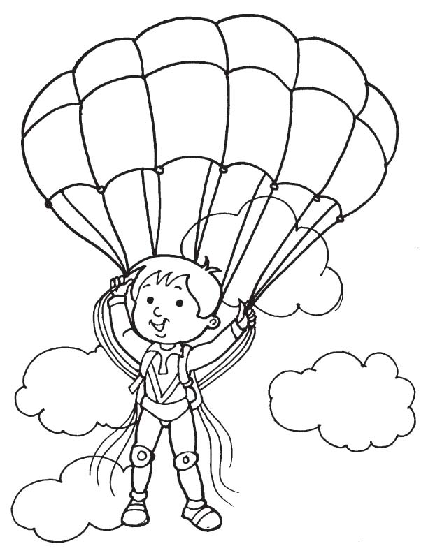 612x792 Paratrooper Cloud Coloring Page Download Free Paratrooper