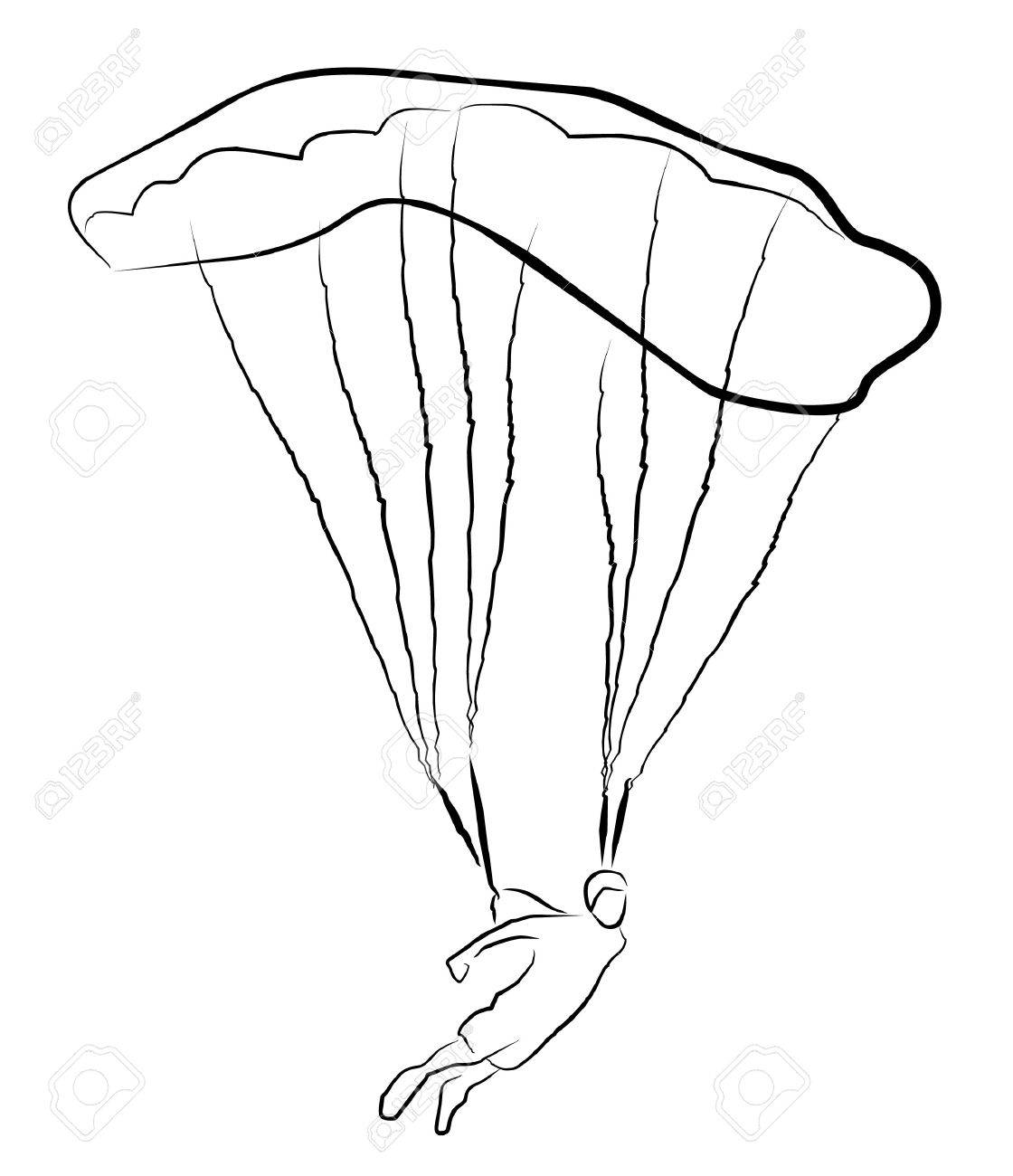1120x1300 Skydiving Royalty Free Cliparts, Vectors, And Stock Illustration