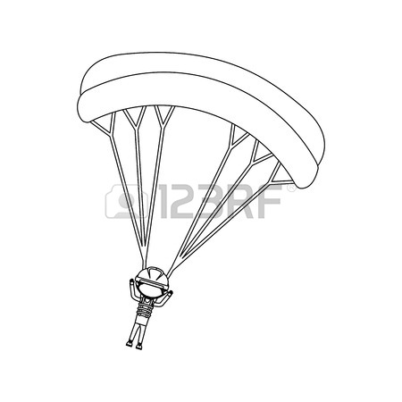450x450 882 Parachute Jumper Stock Vector Illustration And Royalty Free
