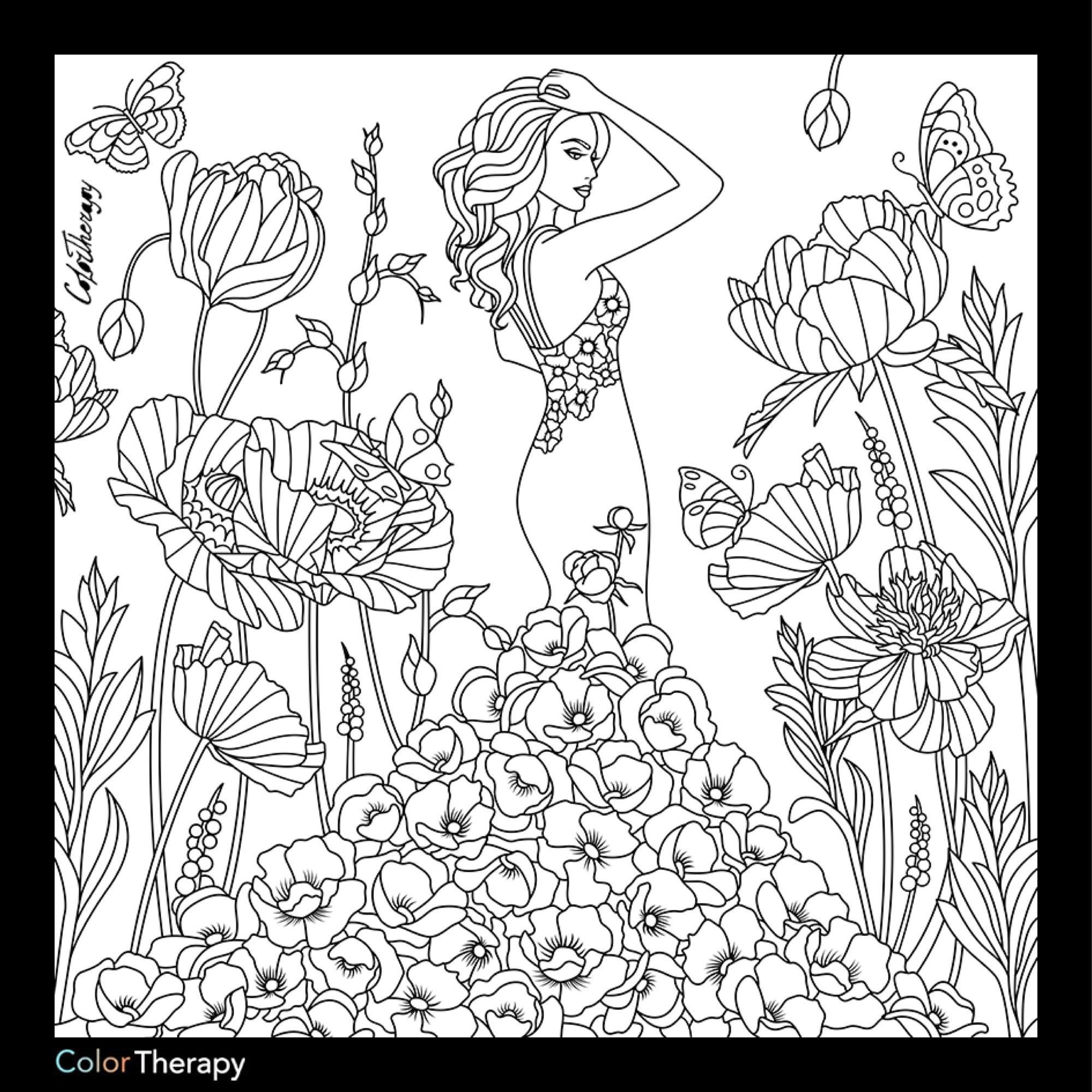 2000x2000 Fashion Coloring Page Fashion Coloring Pages For Adults