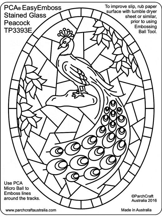 520x697 Pca Embossing Parchment Templates Tp3376e