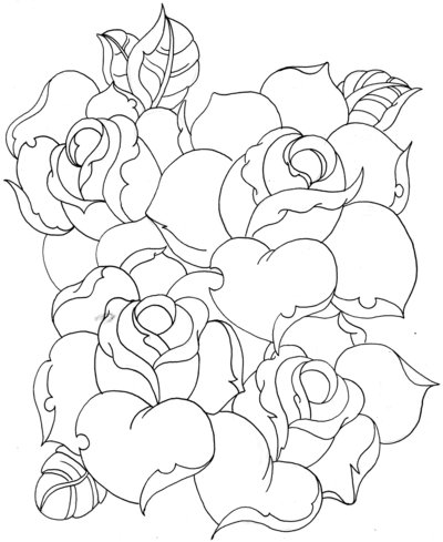 400x489 Rose Practice By On @