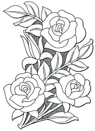 336x460 Sheridan Floral Design Drawing