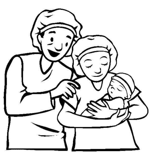 600x612 Innovative Parents Coloring Pages Best Colorin